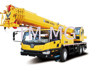 Load Sensing Mobile Truck Mounted Lift With Retractable Boom , 25 Ton
