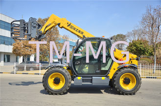Small Telescopic Forklift Versatile Lifting Handling Equipment High Efficiency