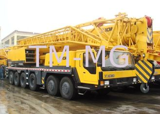 Heavy 100 Ton Truck Crane Hydraulic Mobile Crane QY100k With Plug-In Boom Head